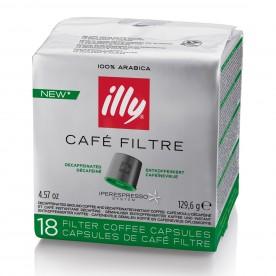 Illy kapsle iper COFFEE bez kofeinu 18 ks