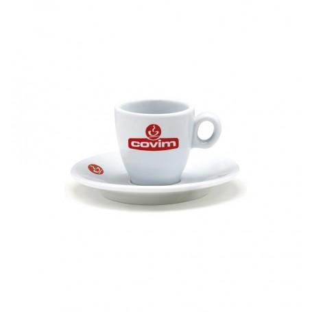 Covim šálek na espresso s podšálkem