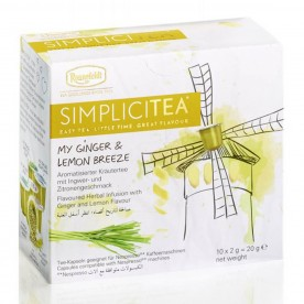 Ronnefeldt SIMPLICITEA My Ginger & Lemon Breeze