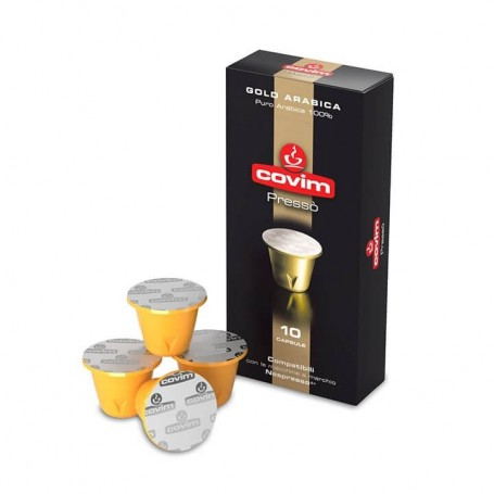 Covim Gold Arabica pro Nespresso, 10 ks