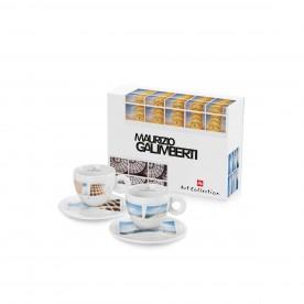 illy MAURIZIO GALIMBERTI, 2x cappuccino šálek
