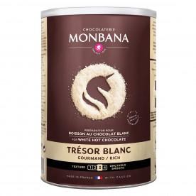 Čokoláda MONBANA Trésor de Chocolat bílá 500g
