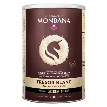 Čokoláda bílá MONBANA 500g