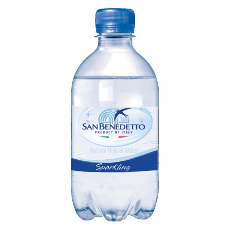 San Benedetto 0,33 l PET, perlivá - 24 ks