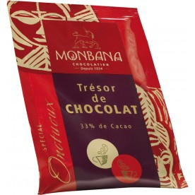 Čokoláda Monbana Trésor de Chocolat 100 x 25 g