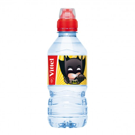 Vittel - KIDS Superheroes 0,33 l PET - balení 24 ks