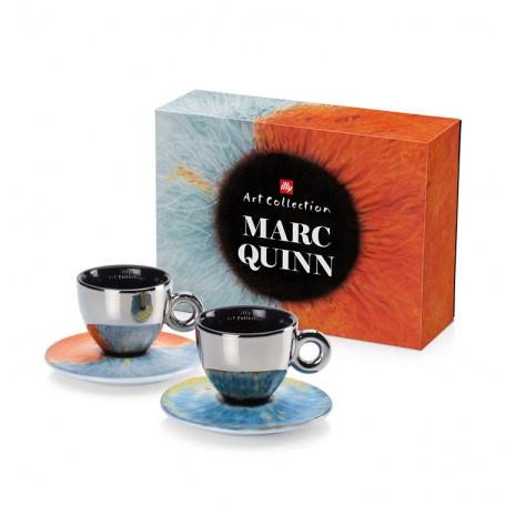 illy MARC QUINN, 2x cappuccino šálek
