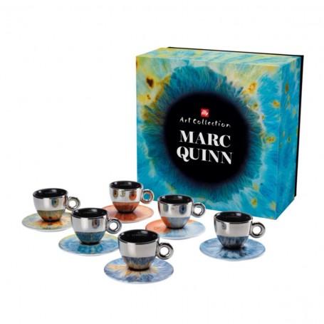 illy MARC QUINN, 6x cappuccino šálek