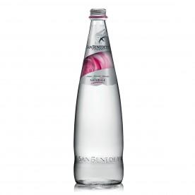 San Benedetto Prestige Rose 1 l sklo, neperlivá - balení 12 ks