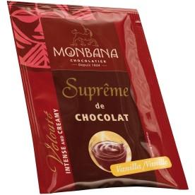 Horká čokoláda Monbana Vanilka 50x25 g
