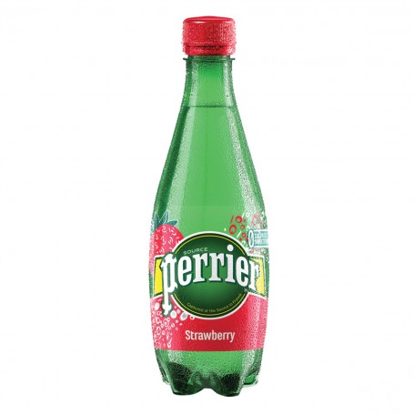 Perrier Strawberry 0,5 l PET - balení 24 ks