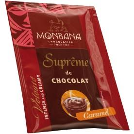 Horká čokoláda Monbana Karamel 50x25 g