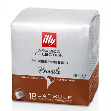 Kapsle illy iperespresso Monoarabica BRAZIL 18 ks