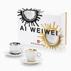 illy AI WEIWEI, 2x espresso šálek