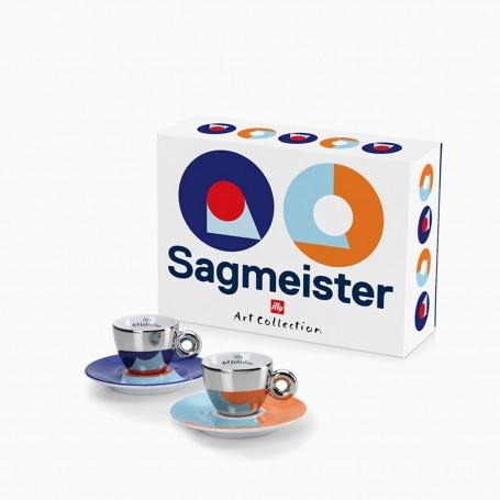 Kolekce illy STEFAN SAGMEISTER, 2x espresso šálek