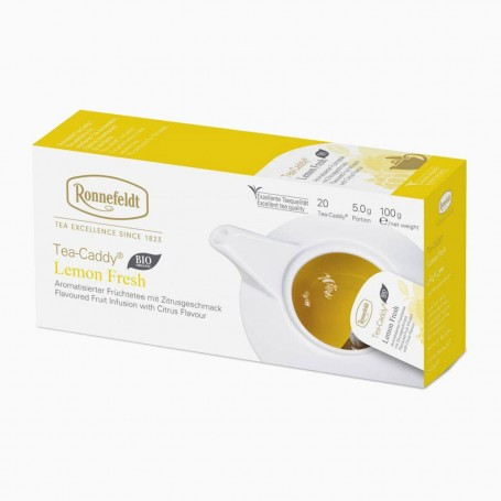 Ronnefeldt Tea-Caddy Lemon Fresh BIO, 20 porcí