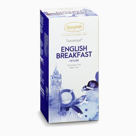 Ronnefeldt Teavelope English Breakfast, 25 porcí