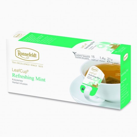 Ronnefeldt LeafCup Refreshing Mint, 15 porcí