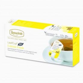 Ronnefeldt LeafCup Lemon Fresh BIO, 15 porcí