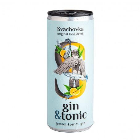 Gin & Tonic 7,2% alk. 0,25 l plech