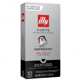 Kapsle illy FORTE pro Nespresso 10 ks