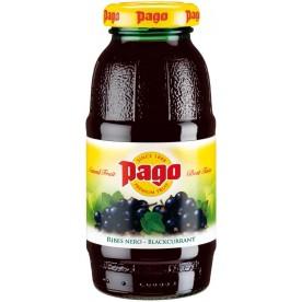 PAGO - Černý Rybíz 0,2 l - balení 24 ks
