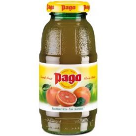 PAGO - Růžový Grapefruit 0,2 l - balení 24 ks