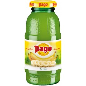 PAGO - Banán 0,2 l - balení 24 ks
