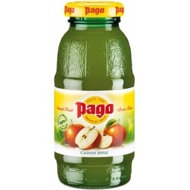 PAGO - Jablko Cloudy Apple 0,2 l - balení 24 ks