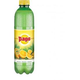 PAGO - Pomeranč 100% PET 1 l - balení 6 ks