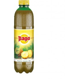 PAGO - Ananas PET 1 l - balení 6 ks