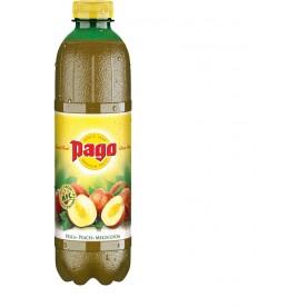 PAGO - Broskev PET 1 l - balení 6 ks