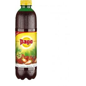 PAGO - Jahoda PET 1 l - balení 6 ks
