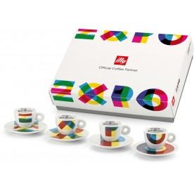illy EXPO 2015, 4x espresso šálek