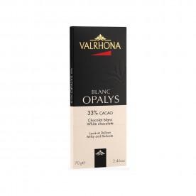 Valrhona OPALYS 33 % - bílá, 70 g