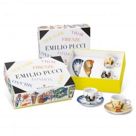 illy EMILIO PUCCI, 2x espresso šálek