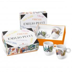 Kolekce EMILIO PUCCI, 2x mug šálek