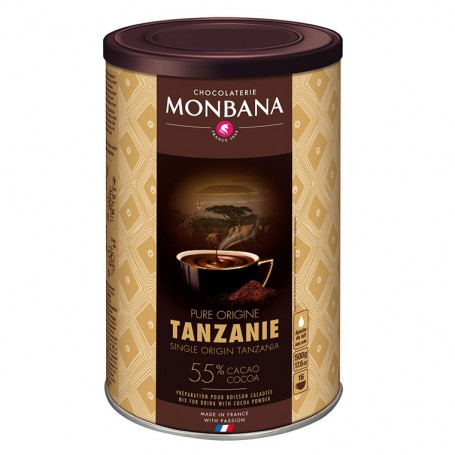Čokoláda MONBANA Tanzanie 55% 500g