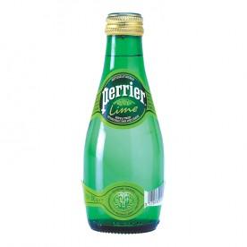 Perrier 0,2 l sklo, Limeta - balení 24 ks