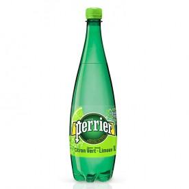Perrier 1 l PET - Lime - balení 12 ks