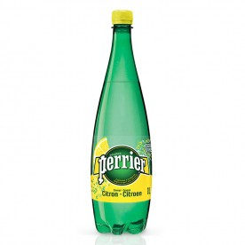 Perrier 1 l PET - Citron - balení 12 ks