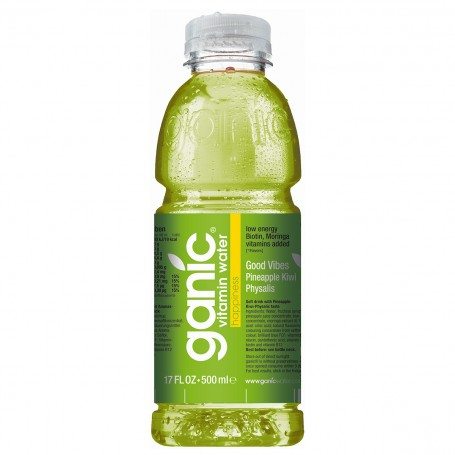 GANIC 0,5 PET Pineapple/Physalis - balení 12 ks