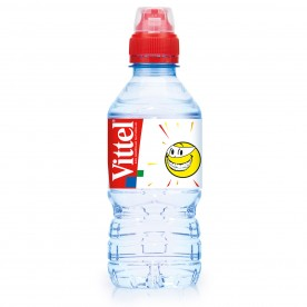 Vittel - KIDS Smiley 0,33 l PET - balení 24 ks