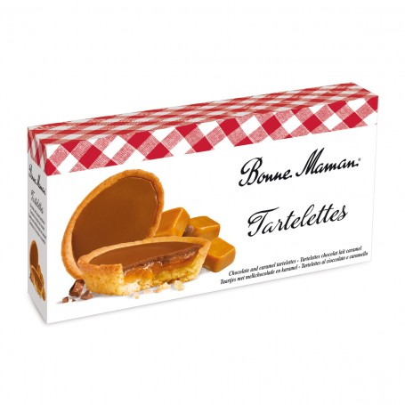 Bonne Maman Tartelettes chocolat lait caramel 135 g